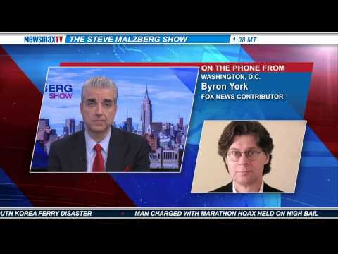 Byron York -- chief political correspondent for the Washington Examiner and Fox News contributor