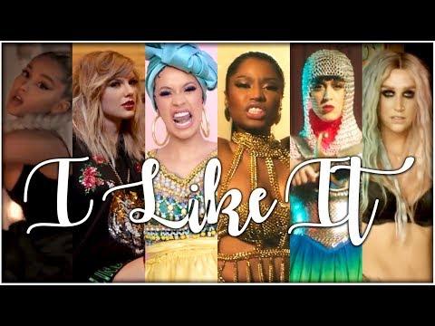 I LIKE IT | The Megamix Ft. Katy Perry, Taylor Swift, Nicki Minaj, Melanie Martinez