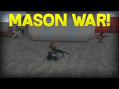 MASON WAR! Apocalypse Rising Reimagined!