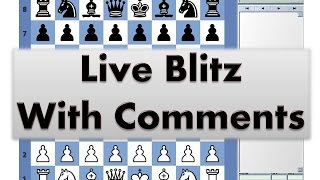 Blitz Chess #2716 Live Comments Clarendon Court vs GM UzbekTiger T Vakhidov Black Offbeat Week
