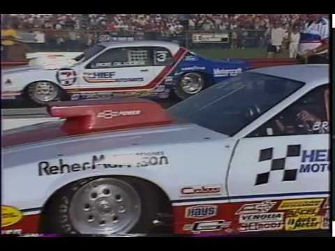 Drag Racing 1985 NHRA U S  Nationals PRO STOCK Final Round