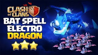 Electro Dragon With Bat Spell TH12 Attack Strategy 2019! Best Electro Fire 3star TH12 Bases