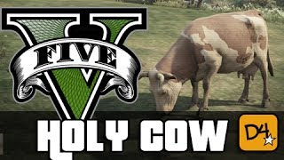 GTA 5 HOLY COW! - #SaveTheCows! (Grand Theft Auto 5)