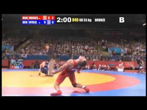 Сильные борцы бросает на прогиб! На олимпияде лондон