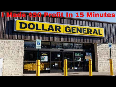 Amazon FBA For Beginners How I Made $50 At Dollar General