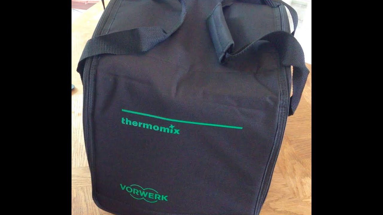 video unboxing sac de transport du thermomix tm5 ou tm31