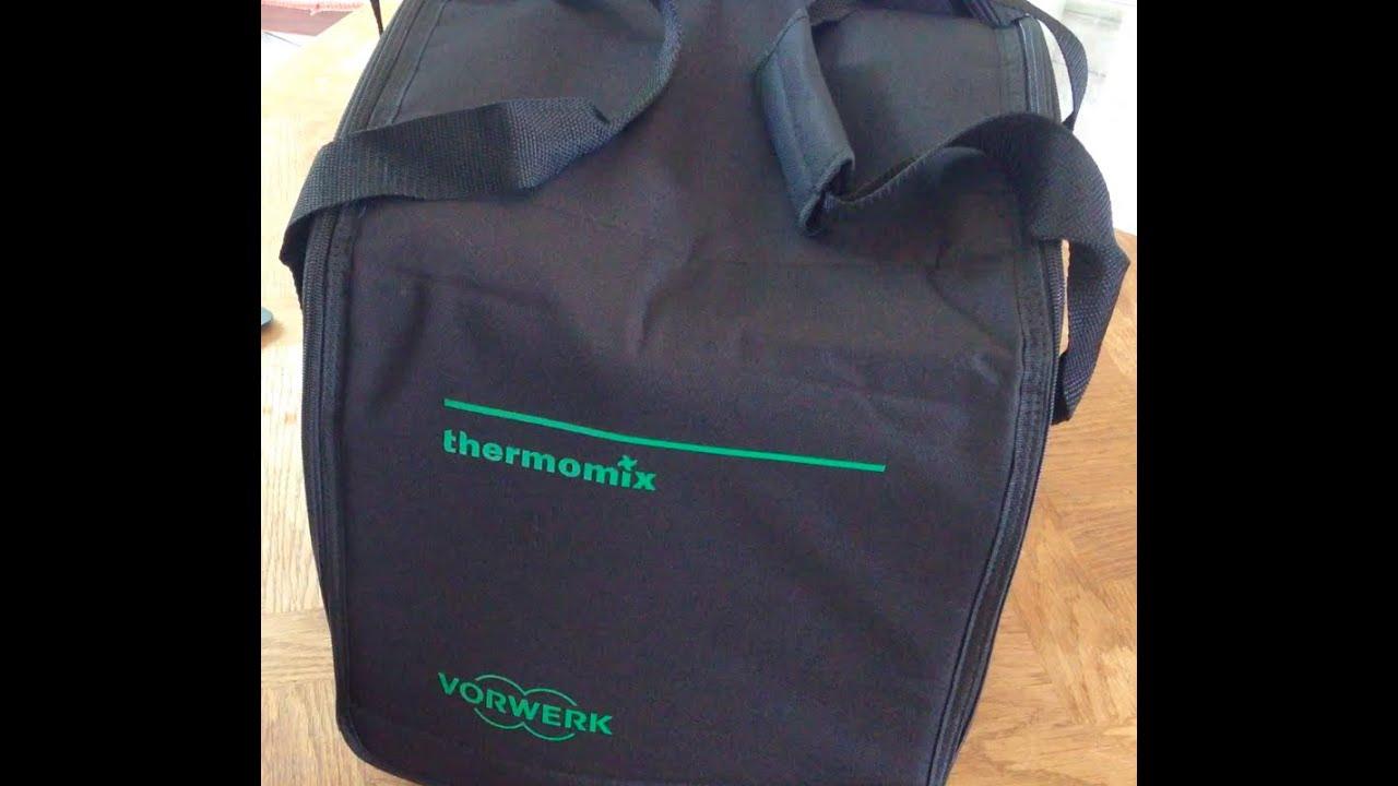 Vid o unboxing sac de transport du thermomix tm5 ou tm31 for Housse transport costume