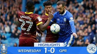 sheffield wednesday 1 qpr 0   extended highlights   2016 17