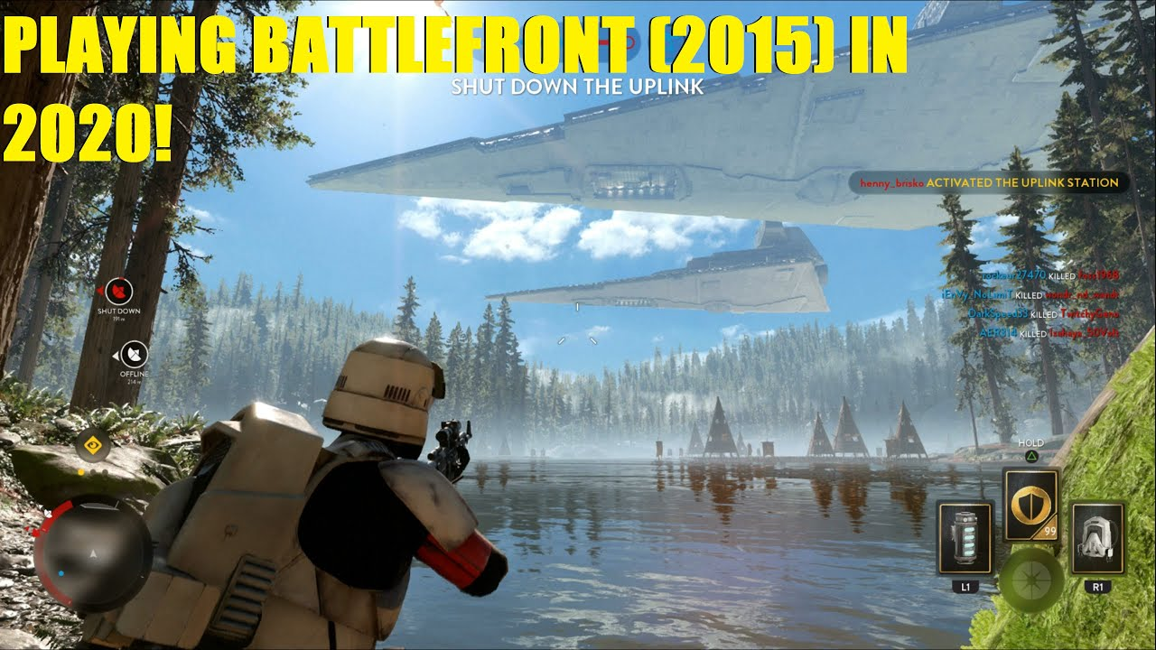 Star Wars Battlefront - Playing Battlefront (2015) in 2020!   I found Pancake Face! (2 games) thumbnail