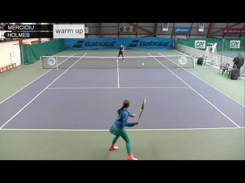 MERCIOIU (FRA) vs HOLMES (GBR) - Open Super 12 Auray Tennis - Court 3