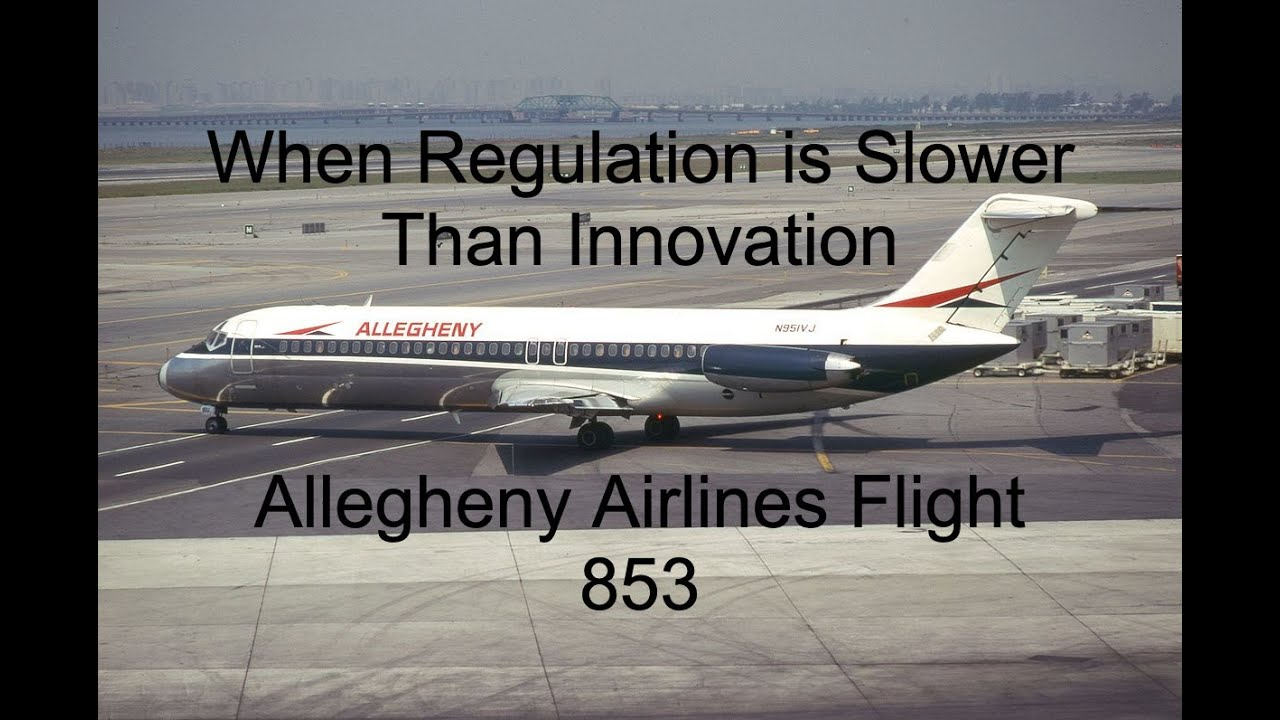 An Almost Forgotten Crash That Made Flying Safer | Allegheny Airlines Flight 853
