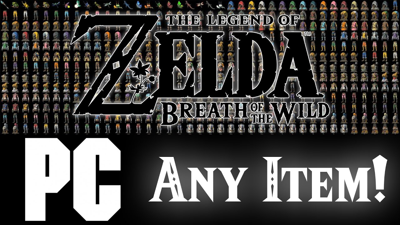 Zelda Breath of the Wild on PC | ANY ITEM (SAVE EDITING)