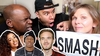 SMASH OR PASS YOUTUBERS?! W/ MY PARENTS