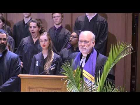 Williams College Baccalaureate  June 3, 2017