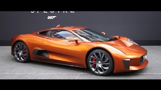 Jaguar C-X75 | Behind the Scenes at the Jaguar SPECTRE event