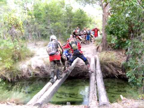 Telegraph track Cape York with Fair Dinkum Bike Tours