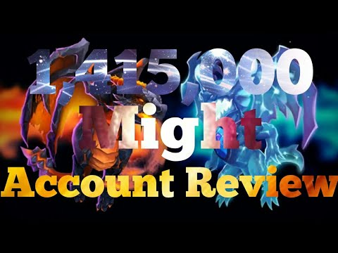 1,415,000 Might Account Review Castle Clash