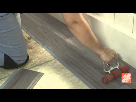 Trafficmaster Allure Gripstrip Vinyl Plank Flooring Youtube