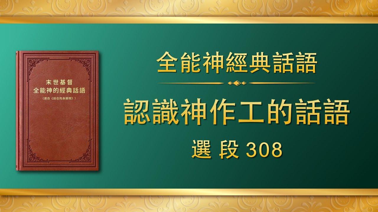 全能神经典话语《认识神作工的话语》选段308