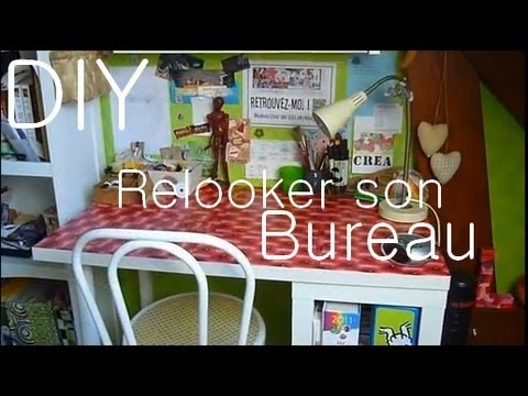 tutoriel relooker un vieux bureau ou une table relook a desk or a table youtube. Black Bedroom Furniture Sets. Home Design Ideas