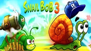Snail Bob 3 Gameplay Walkthrough Part 1 - Snail Vs Worm ( ios, Android )