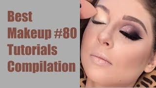 Makeup tutorial Transformations 2018 New Makeup #80 Compilation