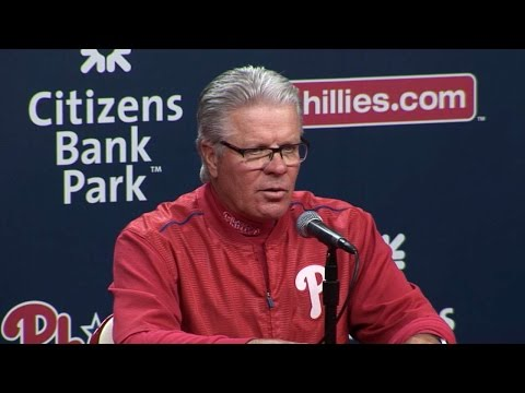 NYM@PHI: Mackanin on Eickhoff, loss to the Mets