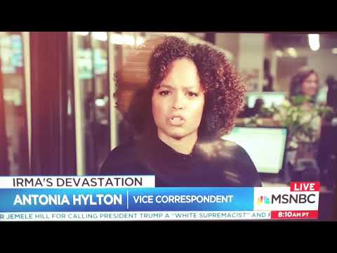 Antonia Hylton from Vice News of MSNBC