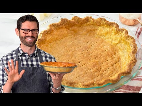 How to make a pie crust top from scratch