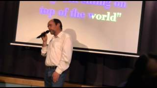 "Steve Hillman sings I""M ON MY WAY"