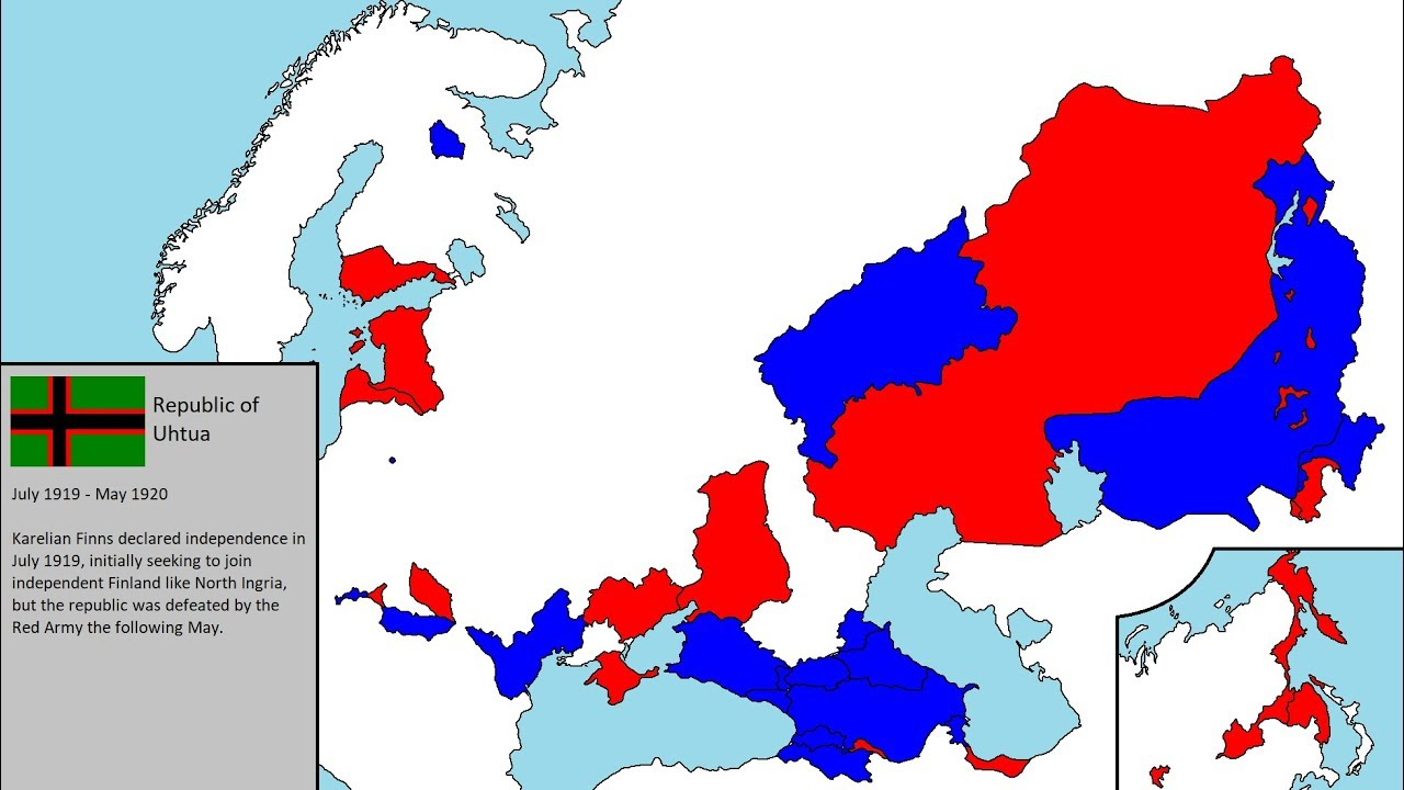 30 short-lived states during the Russian Civil War (Part II)