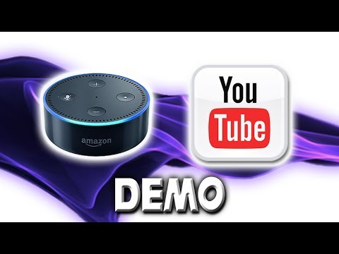 Alexa Youtube Audio Streaming Skill - Demonstration