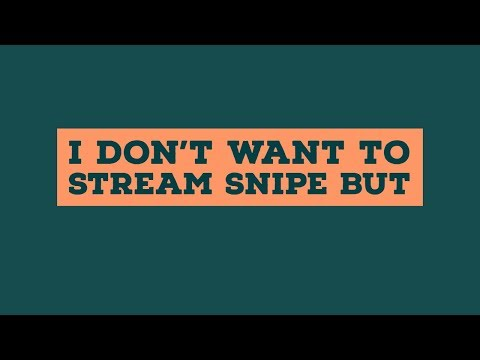 I Don't Want To Stream Snipe But - Escape From Tarkov