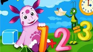 Лунтик . Математика для малышей #1 Детский развивающий игровой мультик для детей.