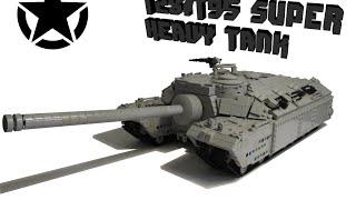 Lego T28/T95 Super Heavy Tank 1/20 (RC)