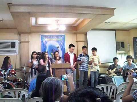 Sis. Faith with the TRLT YP Choir