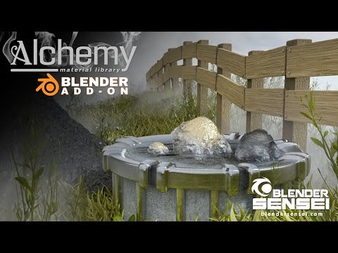 Alchemy Addon For Blender | Blender Sensei