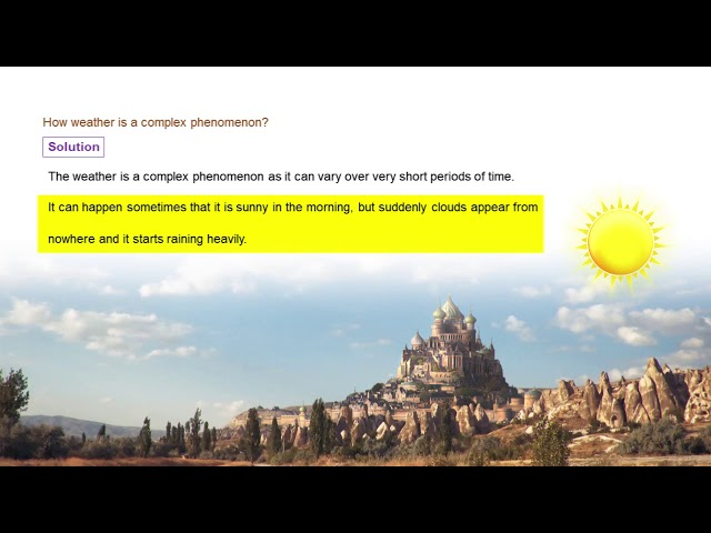 Weather, climate and adaptations - Q1 - CBSE class 7th science