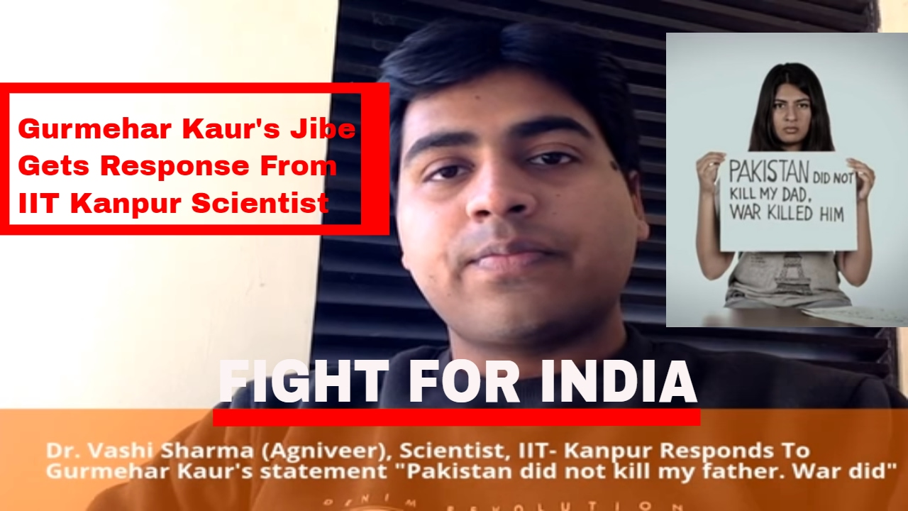 "IIT Kanpur Scientist Responds To Gurmehar Kaur's Jibe ""Pakistan did"