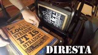 ✔ DiResta Letterpress 3