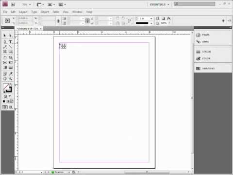 Create an Easy Image Grid Layout in Adobe InDesign