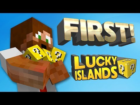 FIRST!!! | Minecraft Lucky Islands