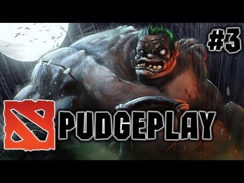 видео: dota 2 pudgeplay - Смертельные хуки Пуджа от Олежки