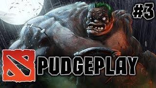 Dota 2 PudgePlay - Смертельные хуки Пуджа от Олежки