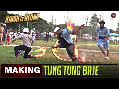 Tung Tung Baje Making | Singh Is Bliing |...