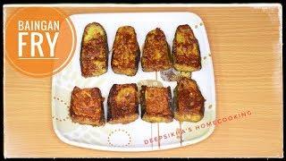 Baingan Fry with Besan|| Baingan fry recipe|| baingan Fry Recipe in Hindi|| Begun Bhaja| Bengena Fry