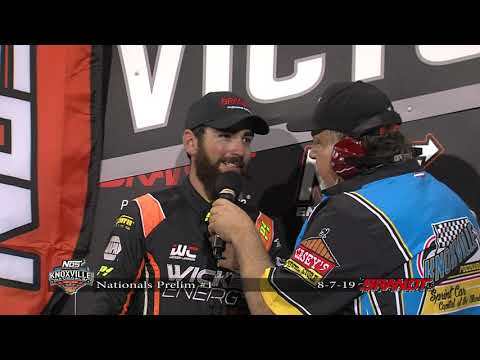 Knoxville Nationals Night #1 Victory Lane - August 7, 2019
