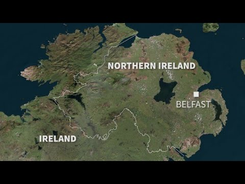 AFP news agency: The border between N. Ireland and Ireland