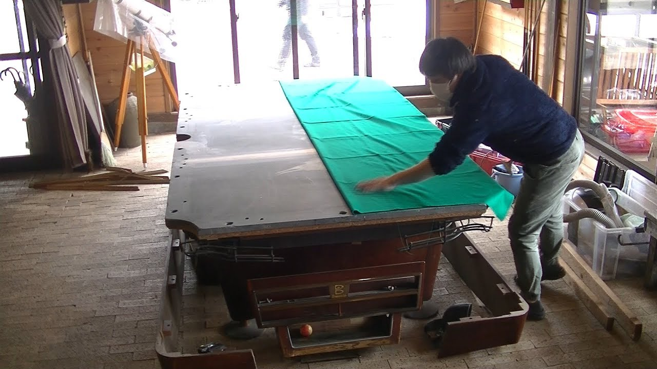 Pool Table Restoration Timelapse You