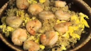 Guy Food: Salmon, Shrimp Lo Mein, Ribs